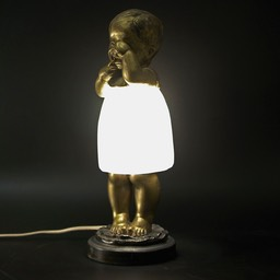 Quirky-1920's-French-Lamp-Sollazzini
