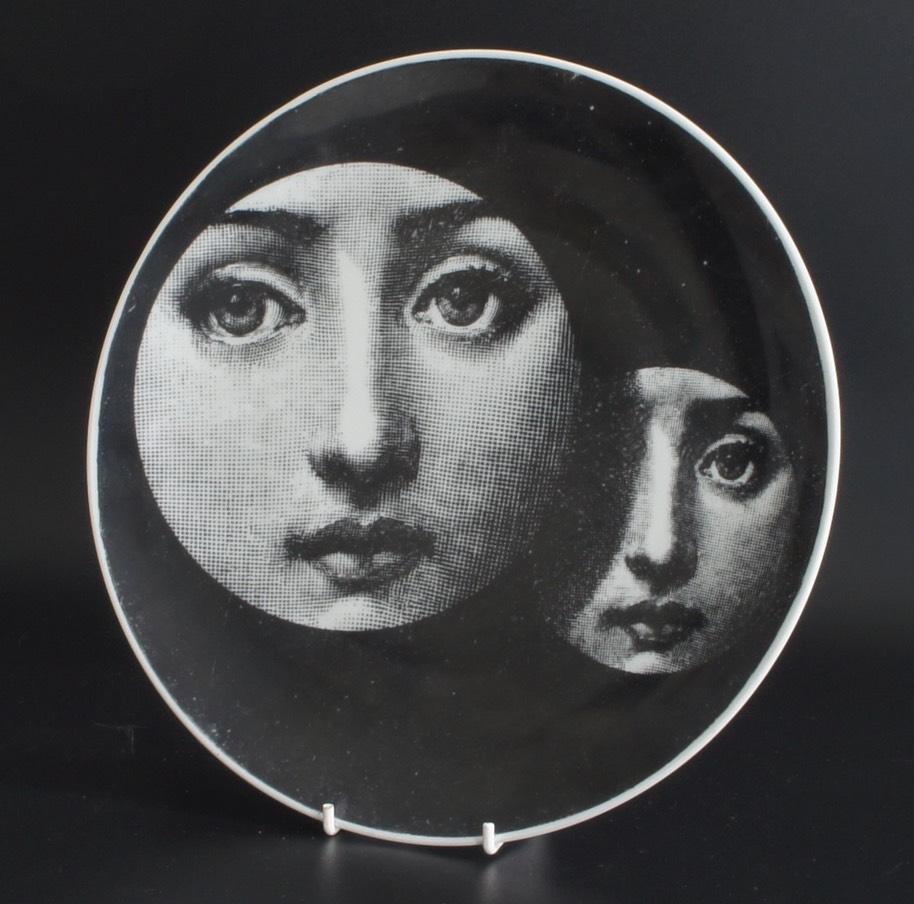 Vintage Fornasetti Lina Cavalieri Plates Centurymodernism Com