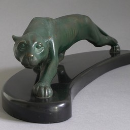 Georges-Lavroff-Bronze-Panther-C