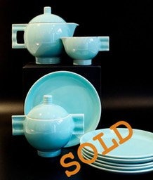 Robj Tea Service, 21 pieces