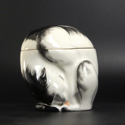 Edouard-Marcel-Sandoz-Cat-Lidded-Ceramic-Box