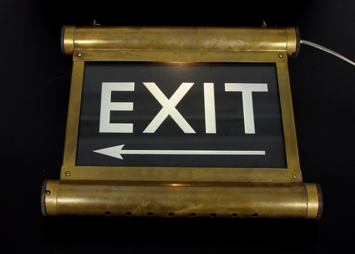 Vintage-Exit-Sign-Illuminated-Internalite-KFM-a
